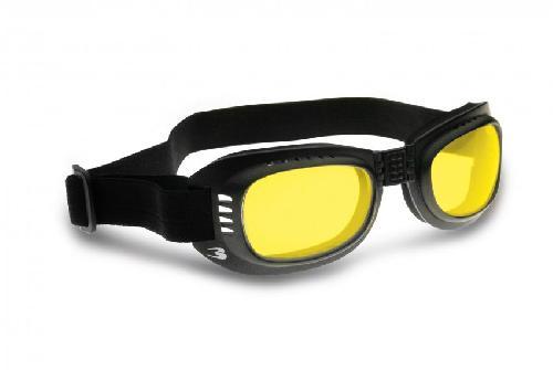Bertoni AF152A Sonnenbrille Schwarz/Gelb I57fuWT8