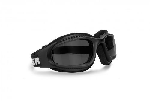 Bertoni AF153R Lunettes de soleil moto Noir coaYgBl