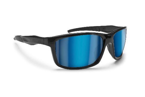 Bertoni AF152A Sonnenbrille Schwarz/Gelb 3GRuM0I