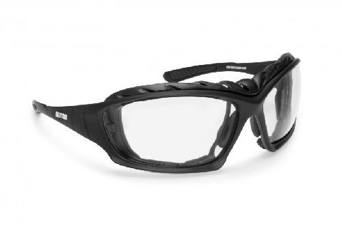 Motorradbrille Brille Skibrille Fliegerbrille Chrom Sportbrille für Harley